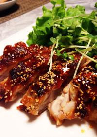 鶏もも肉の韓国風照り焼き