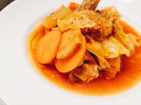 ファイトケミカル鍋♡簡単鶏のトマト煮込み