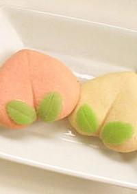 寿桃酥(ピーチクッキー)