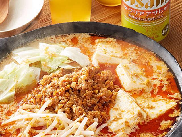 坦々 鍋 レシピ 人気