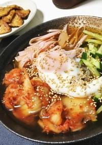 ピリ辛♪ キムチ冷麺