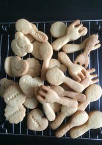 ケーキマーガリンで簡単サクサクなクッキー