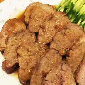 豚ヒレのステーキ♡蜂蜜バター醤油