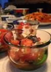 塩昆布とトマトの和え物