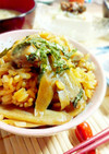 鶏とごぼうの混ぜご飯