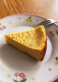 お鍋で焼く♪さつまいものチーズケーキ