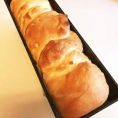 パウンド型で♪ 美味しい手捏ねパン☆