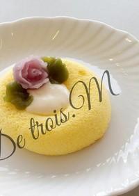 韓国あんフラワークリーム 米粉ケーキ