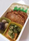毎日男弁当⁂豚生姜焼き〜タモリ風〜弁当