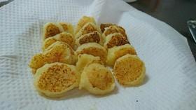 離乳食中期 もちもちサツマイモお焼き