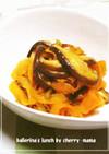 お弁当に★にんじんと椎茸のバター麺つゆ