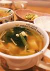 豆腐と小松菜のあんかけスープ♡