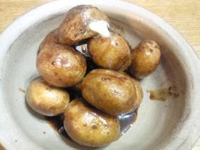 皮付きジャガイモの煮っころがし
