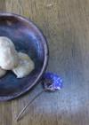 だんご粉と豆腐のヘンプナッツ団子。