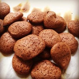 トーストで!簡単ココアクッキー