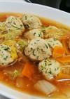 鶏団子と野菜のとろとろ煮
