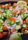 野菜たっぷり★鯛といくらのカルパッチョ❤