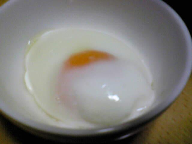 超簡単!!1分で出来る温泉卵