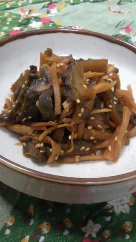 生姜とゴーヤの佃煮