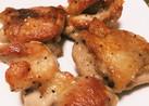 簡単!鳥もも肉のパリパリガーリック焼き!