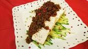 レンジで簡単♪肉味噌の麻婆豆腐冷奴サラダの写真