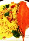 ワタリガニのカニクリームパスタ