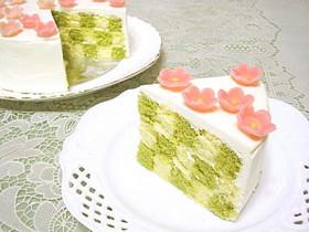 市松ケーキ