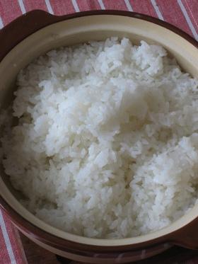 ふっくら最高❤だれでも炊ける土鍋でご飯