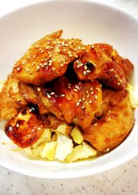 低糖質!米じゃない!鶏胸肉の超スタミナ丼