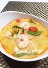 残り野菜でアジアン料理簡単トムヤムスープ