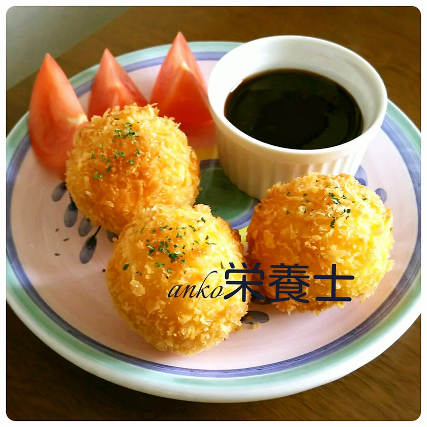 ★簡単本格的♪コロコロ蟹クリームコロッケ
