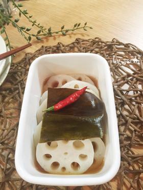 【作り置き・お弁当】れんこんの甘酢漬け