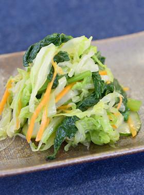 【給食レシピ】野菜たっぷりサラダ