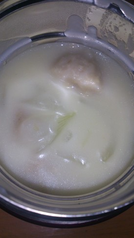 スープジャー弁当♪肉団子のクリーム煮