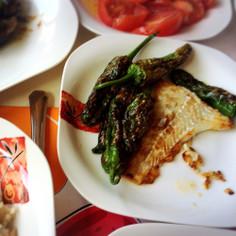 スペインバスク☆甘長唐辛子の丸焼き