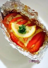 健康的に♪夕食にツナ&トマトのホイル焼き
