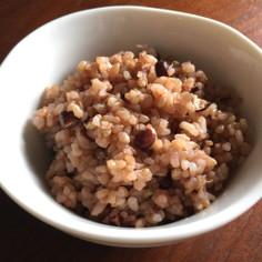 酵素玄米(寝かせ玄米)の炊き方★