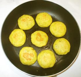 スイートポテト餅♪簡単美味しいフライパン