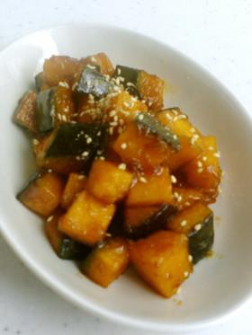 コロコロ かぼちゃの甘辛炒めPart2