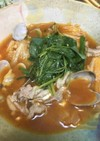 豚キャベツのチゲ鍋