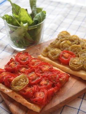 ミニトマトのプロヴァンス風タルト
