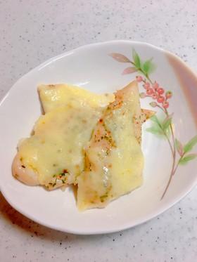 お弁当に*簡単すぎる*ささ身チーズ焼き