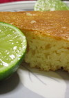 ハチミツ・チーズ・かぼすが絶妙☆ケーキ♪