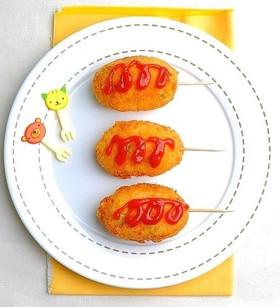 【お子様】ご飯で作る♥ホットドック