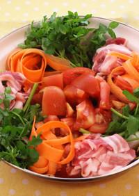 ダブルトマトのリコピンリッチ鍋
