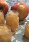 りんごとカボスでじゃむ作り