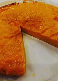 簡単混ぜて焼くだけかぼちゃケーキ