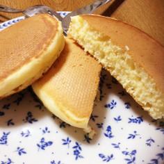 ホットケーキミックスなしパンケーキ