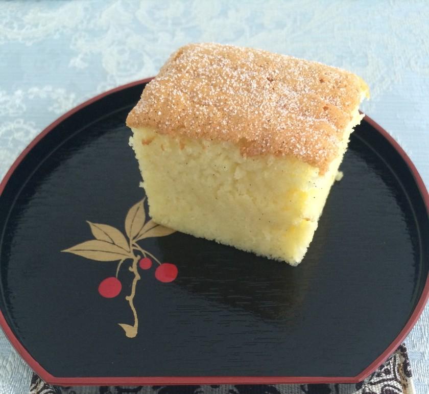 ふわふわ簡単なケーキ