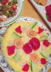 ケーキ押し寿司
